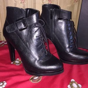French Connection Leather Boots Brand New